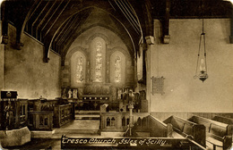 SCILLY ISLES - TRESCO - CHURCH (Interior)  Sc29 - Scilly Isles