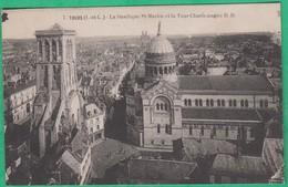 37 - Tours - La Basilique Saint Martin Et La Tour Charlemagne - Editeur: R.D N°7
