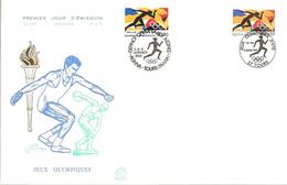 HB-P 218 FRANCE Enveloppe 1er Jour YT N° 2745 (1992) Jeux Olympiques D'été Départ à 10% De La Cote ! - 1990-1999
