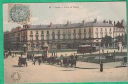 37 - Tours - Place Du Palais - Editeur: Grand Bazar N°37 (tramway)