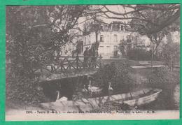 37 - Tours - Jardin Des Prébendes D'Oe - Pont Sur Le Lac  - Editeur: A.B N°1202