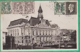 37 - Tours - Hôtel De Ville - Editeur: La Cigogne N°2