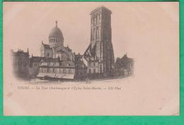 37 - Tours - La Tour Charlemagne & L'église Saint Martin - Editeur: ND Phot N°5