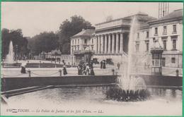 37 - Tours - Le Palis De Justice Et Les Jets D'eau - Editeur: LL N°210