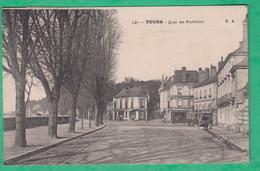 37 - Tours - Quai De Portillon - Editeur: E.A N°121