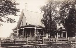 Mineville New York, Superintendant Clonan Residence, Mine Mining, C1910s Vintage Real Photo Postcard - Mijnen