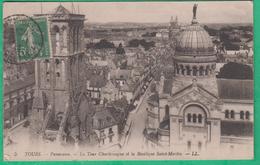 37 - Tours - Panorama - La Tour Charlemagne Et La Basilique Saint Martin - Editeur: LL N°5
