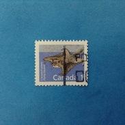 1988 CANADA FRANCOBOLLO USATO STAMP USED - FAUNA ANIMALI FLYING SQUIRREL 1