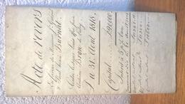 Acte De Revers - 1818  - Lutry - Canton De Vaud - Documents Historiques