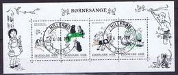 Denmark 2016; Children's Songs, Miniature Sheet  (o).