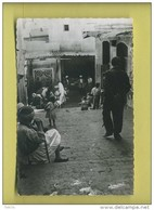 Algerie Alger Scene De La Casbah