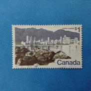 1971 CANADA FRANCOBOLLO USATO STAMP USED - CITTA' VANCOUVER 1
