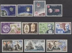 MONACO 1965  SERIE N° 664 A 674  - 11 TP NEUFS* / C2632