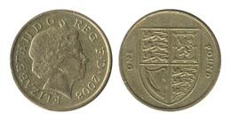 Great Britain / 2008 / 1 Pound / KM# 1113 / VF - 1971-…: Dezimalwährungen