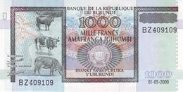 BURUNDI 1000 FRANCS 2009 P-46a UNC [BI233a] - Burundi