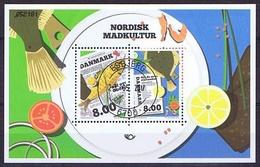 Denmark 2016; Nordic Food Culture, Miniature Sheet  (o).