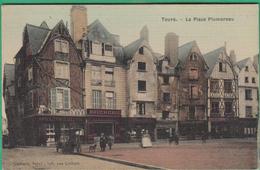 37 - Tours - La Place Plumereau - Editeur: Caillard