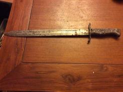 Baïonnette A Identifié - Knives/Swords