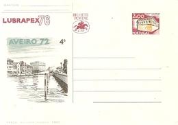 Portugal ** & Postal Stationery,  Aveiro 1972, LUBRAPEX 1976 (1132)