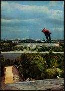 SOVIET UNION 1973 - MOSCOW PANORAMIC VIEW - SKI JUMPING - STATIONERY - MINT - Inverno