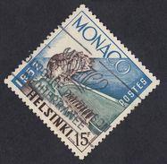 MONACO - 1953 -  Yvert 391 Usato. Olimpiadi Di Helsinki, 15 F.