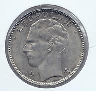 LEOPOLD III * 20 Frank 1935 Frans/vlaams  Pos.B * Prachtig * Nr 8659 - 1934-1945: Leopold III