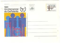 Portugal ** & Postal Stationery, International Year Of Deficiency 1981 (1367)