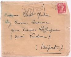 G609 - 15c Muller Sur Lettre De 1956 - Avec Flamme UNESCO