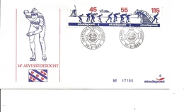 Hiver -Patinage Sur Glace ( FDC Privé Des Pays-Bas De 1986 à Voir)