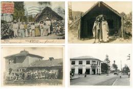 JOLI LOT DE 135 CARTES ET CARTES PHOTOS ÉTRANGÈRES / THEM CHINE MEXIQUE SERBIE RUSSIE GABON CONGO AUSTRALIE GUINEE .... - Cartes Postales