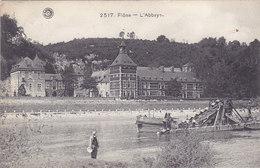 Flône - L'Abbaye (animée, Dragage De La Meuse, 1909) - Amay
