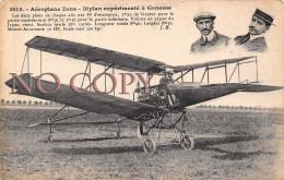 95 - Gonesse - Aéroplane Zens - Biplan Expérimenté - Aviation - Gonesse