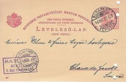 Hungary: Postcard Frantz-Joseph Coronation; Budapest - Chaux-de-Fonds, 6 De 1922 - Hungary