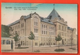 EAD-18  Neusatz  Ujvidék Novi Sad Kön. Ung.. Kath. Gymnasium. Circulé En 1919 Sous Enveloppe - Serbie