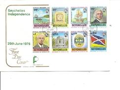 Seychelles -Indépendance ( FDC De 1976 à Voir)