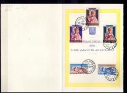 1954  Accords De Latran, Canonisation De Pie X, 192 / 193 + 200 / 202 Sur Feuillet,  Cote 20 €,
