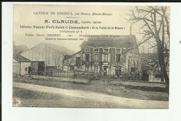 52 - Haute Marne - Laiterie De Lenizeul Par Merrey - A.Claude - Voitures Bidons De Lait -