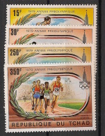 Tchad - 1979 - Poste Aérienne PA N°Yv. 228 à 231 - JO Moscou 80 - Neuf Luxe ** / MNH / Postfrisch