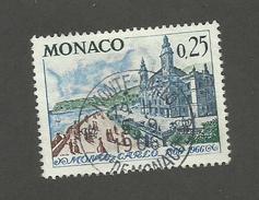 MONACO - N°YT 691 OBLITERE AVEC CAD DU 05/09/1966 - COTE YT : 0.35€ - 1966