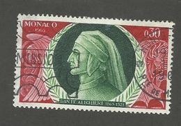 MONACO - N°YT 683 OBLITERE - COTE YT : 0.50€ - 1966