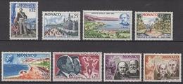 MONACO 1966 SERIE DU N° 690 A 697 / 8 TP NEUF* /C029