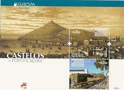 Portugal ** & CEPT Europa  Azores Castles, De São João Batista And Fort De São Bras 2017 (458) - Schlösser U. Burgen