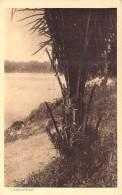 ** Lot De 2 Cartes ** AFRIQUE NOIRE - GABON - LAMBARENE : La Rivière L'OGOUE - CPSM PF 1 Sépia 1 Dentelée - Black Africa - Gabon