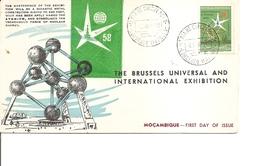 Exposition De Bruxelles -1958( FDC Du Mozambique à Voir)