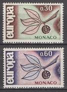 MONACO 1965 N° 675 Et 676  NEUFS  * /C031