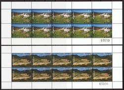 Kosovo 2017 Europa, Old Fortresses, Castle New Hill, Artanes, Mini Sheet MNH