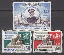 MONACO 1966 - LOT N° 702 / 703 Et 704 - 3 TP NEUFS* /C033