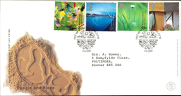 06 June 2000 People And Place Royal Mail FDC First Day Cover Gateshead SHS - Autres - Europe