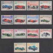 MONACO 1967 - SERIE N° 708 A 721 - 14 TP NEUFS* /C034