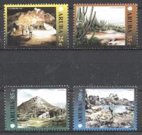 Aruba 2000 - MNH - Cactus, Landscapes, Mountain